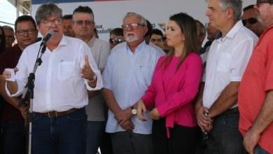 Ao lado de Anna Lorena, João Azevêdo inaugura obras e anuncia investimentos que somam mais de R$ 5 mi 4