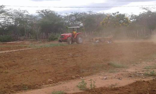 zabele-520x312 Prefeitura de Zabelê segue realizando cortes de terras para agricultores