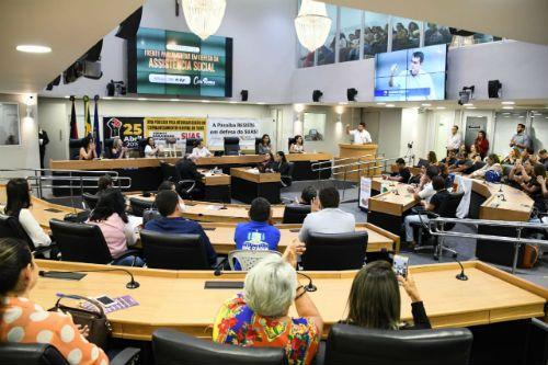 ALPB Assembleia lança Frente Parlamentar em Defesa da Assistência Social