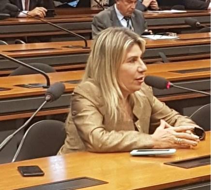 EDNA-HENRIQUE Exames descartam infarto da deputada federal Edna Henrique
