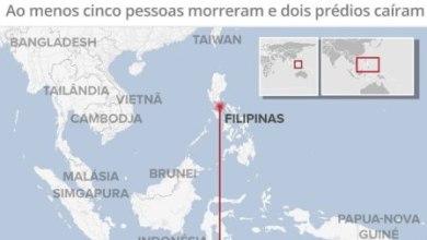 Terremoto de 6,1 de magnitude abala as Filipinas 2