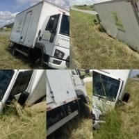 Motorista da Prefeitura de Monteiro perde controle de Caminhão e cai em barranco na BR-230