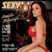 Sexy maio 2019: Psicanalista Monteirense Anniele Maracajá é capa da revista Sexy