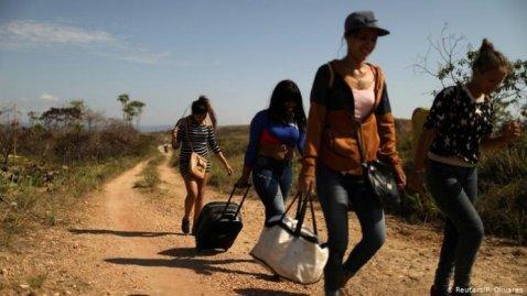 venezuelanos-fuga-rotas-693x390 Juan Guaidó busca ajuda do Pentágono para resolver crise na Venezuela