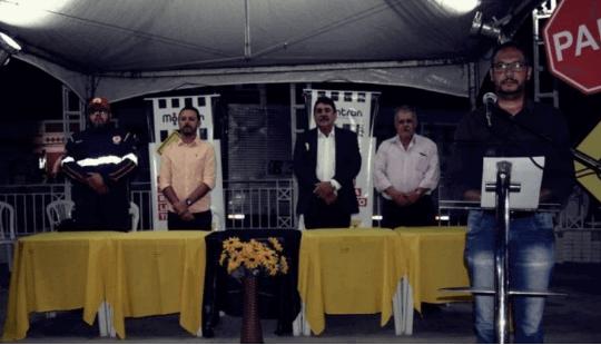 maio Praça João Pessoa, em Monteiro, recebe encerramento do Maio Amarelo