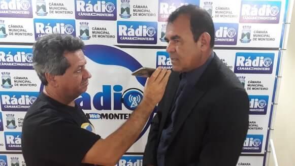 3 Vice prefeito Celecileno destaca São João, programa CIDADE TRABALHO e apoio dos vereadores, em mensagem do executivo