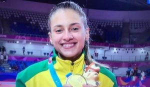 Filha de Pratense faz história é medalha de ouro nos Jogos Pan-Americanos no Peru 2