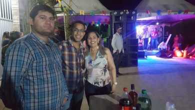 Prefeito Dalyson Neves e o vereador Juninho de Marleide prestigiam festa de São Pedro 6