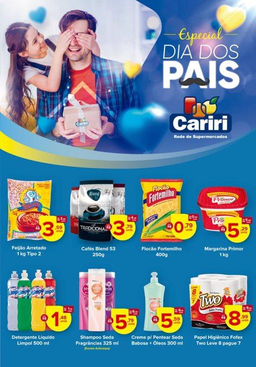 Pai feliz é no Malves Supermercados em Monteiro;Confira promoções 2