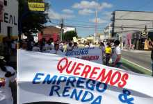 Vereador Juan Pereira participa de protesto ao lado de cidadãos pela economia em Sumé 9