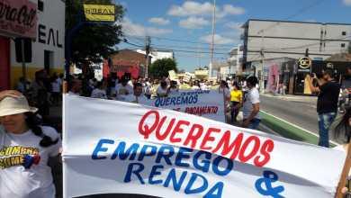 Vereador Juan Pereira participa de protesto ao lado de cidadãos pela economia em Sumé 7