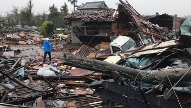Passagem de tufão no Japão deixa 24 mortos 11