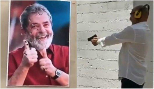 psl-672x390 Assessor de deputado do PSL posta vídeo atirando em foto de Lula
