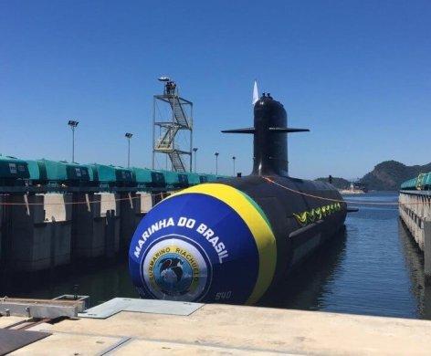 Submarino Humaitá, feito em parceria com a França, entra em fase final de montagem 1