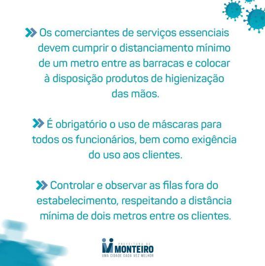 5-1 Monteiro contra o Covid-19 conheça as principais medidas decretadas