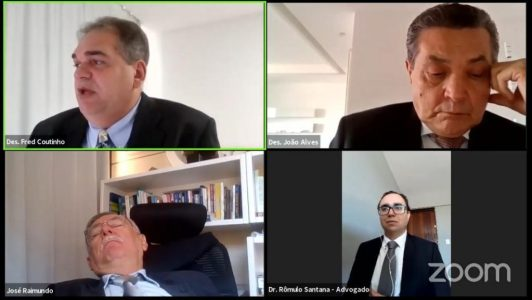 cochilo COCHILO BOM: Procurador dorme durante julgamento online do TJPB