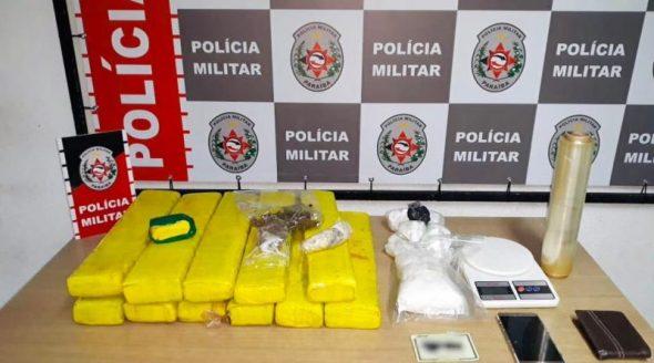 DROGAS Polícia Militar apreende mais de 16 kg de drogas em ação de combate ao tráfico na PB