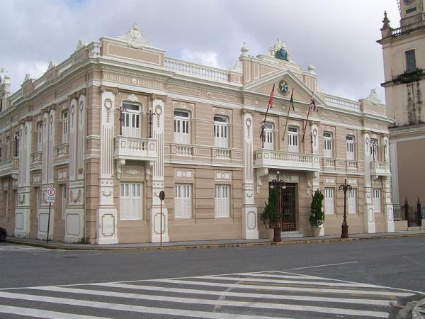 Palacio-da-Redencao-sede-do-governo-estadual Serviço público estadual deve ter atividades presenciais suspensas com novo decreto, na PB