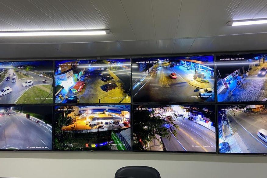 ciop_seguranca_publica_foto_coronel_julio_cesar Paraíba tem 400 câmeras de monitoramento que podem flagrar aglomerações; denúncias podem ser feitas no 190, 193 e app SOS Cidadão