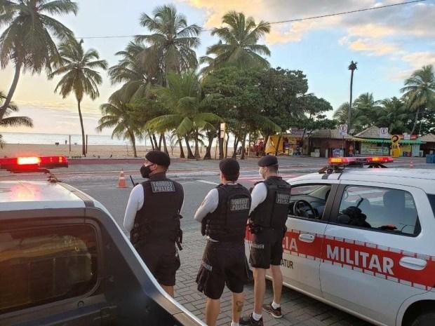 seguranca Policiamento será reforçado e quem for flagrado desobedecendo medidas restritivas poderá ser preso na Paraíba
