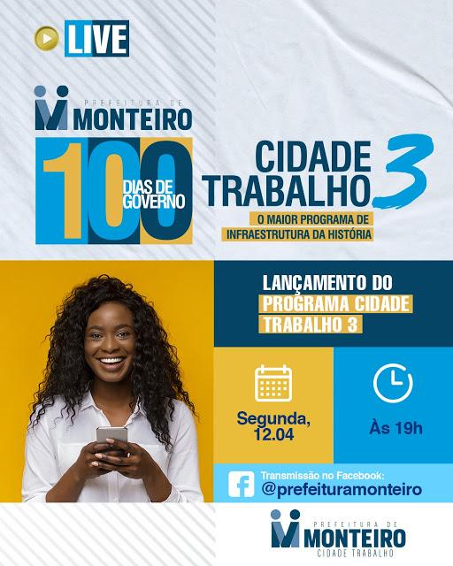 5-LIVELO Com 80% de aprovação, prefeita Anna Lorena comemora 100 dias de governo e lança programa Cidade Trabalho 3