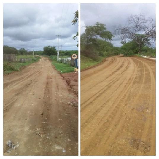 estradas Agricultura realiza reparos em estradas danificadas pelas chuvas, secretário pede que apelos sejam encaminhados para a secretaria