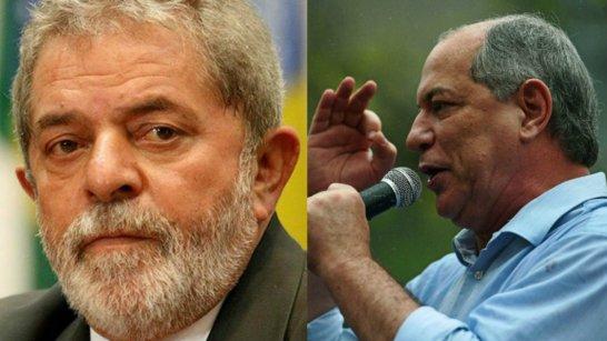lula-ciro-gomes Ciro diz que Lula devia seguir exemplo de Cristina Kirchner, vice na Argentina