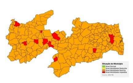 novo-normal-pb Novo Normal: 100% do estado da PB está em bandeira vermelha ou laranja, segundo avaliação