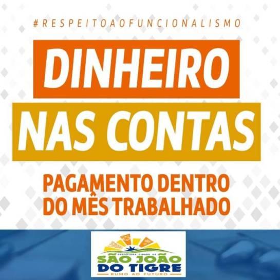 49b1d502-33bd-4ab7-99ff-f22fe98e782c-15 Prefeitura de São João do Tigre paga salário de abril dos servidores municipais