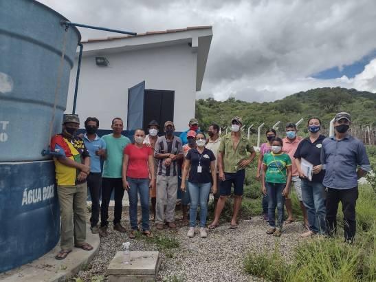 SAO-JOAO-DO-TIGRE Prefeitura de São João do Tigre vai reativar sistema de dessalinização da comunidade das Lavras, beneficiando mais de 50 famílias