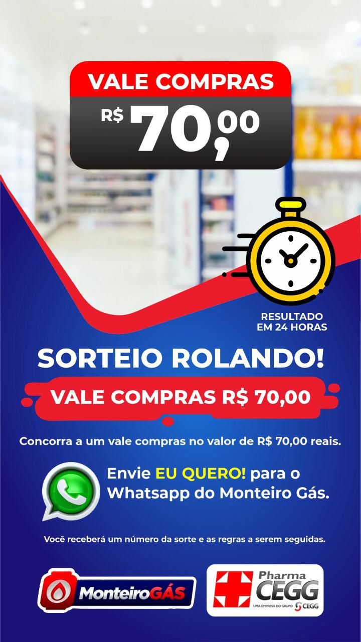WhatsApp-Image-2021-06-16-at-08.45.19-2 A Monteiro Gás em parceria com a PharmaCEGG, vai sortear um vale compras no valor de R$ 70,00 reais