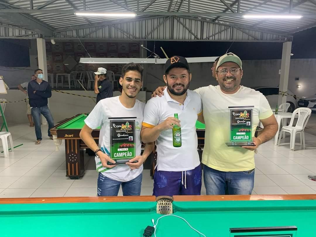 FB_IMG_1626663047980 Monteirense Eduardo Alexandre é Campeão da primeira etapa da Copa Sertão de Sinuca