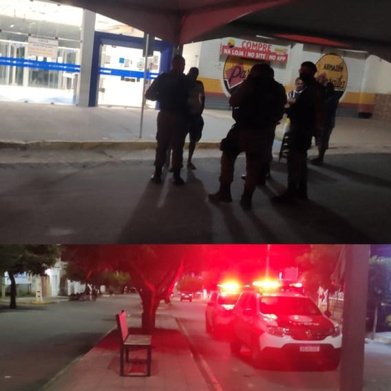 IMG_20210715_204925 Homem é detido por vender vagas e ameaçar pessoas em filas da Caixa Econômica em Monteiro