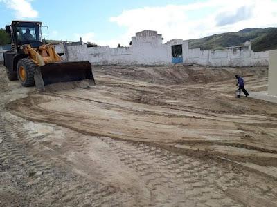 sta-maria Prefeitura de São João do Tigre realiza ação de infraestrutura no Distrito de Santa Maria.