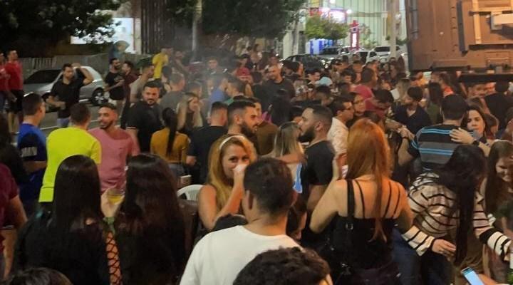 sumeaglomeracao COVID-19:  Por omissão da Prefeitura de Sumé, população faz nova aglomeração regada a álcool e som alto