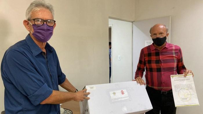 unnamed_39-700x394 Paraíba recebe doação de seis mil máscaras feitas da casca do camarão produzidas pela Fapesq