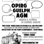 OPIRG – Guelph AGM