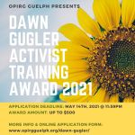 Dawn Gugler Activist Training Award – ACCEPTING APPLICATIONS