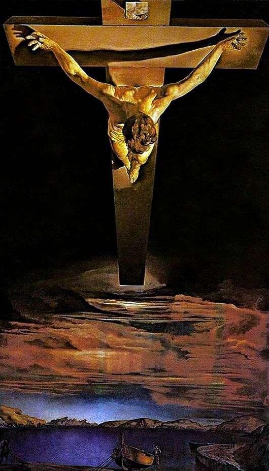 Описание картины Сальвадора Дали «Распятие Христа от ...
