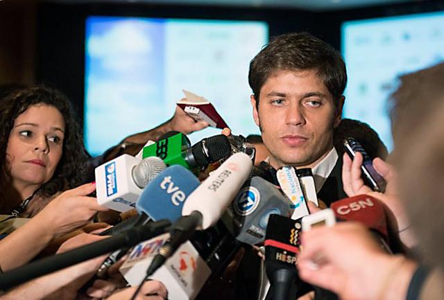 El Ministro de Economia de la Nación Axel Kicillof - Foto: Prensa