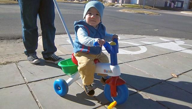 Emanuel tiene 19 meses - Foto: