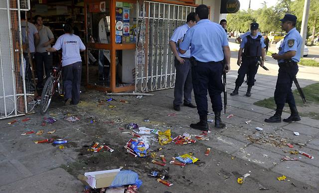 La policía volvió a las calles en Córdoba - Foto: