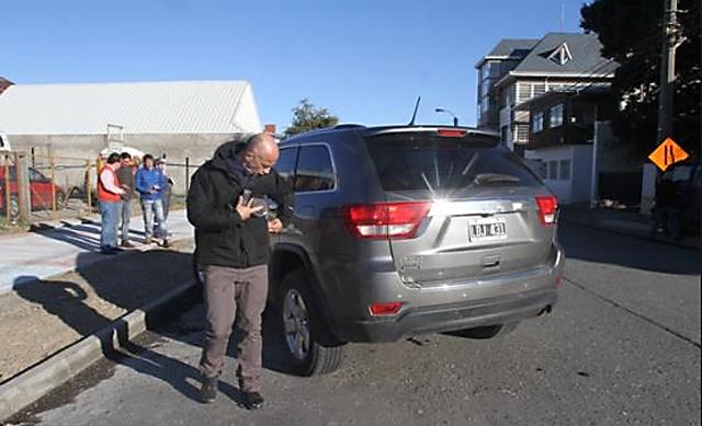 El Vicegobernador Fernando Cotillo en Punta Arenas - Foto:
