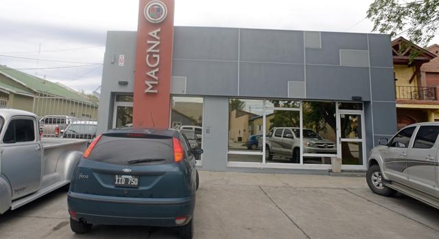 Las oficinas de Magna en Río Gallegos - Foto: OPI Santa Cruz/Francisco Muñoz