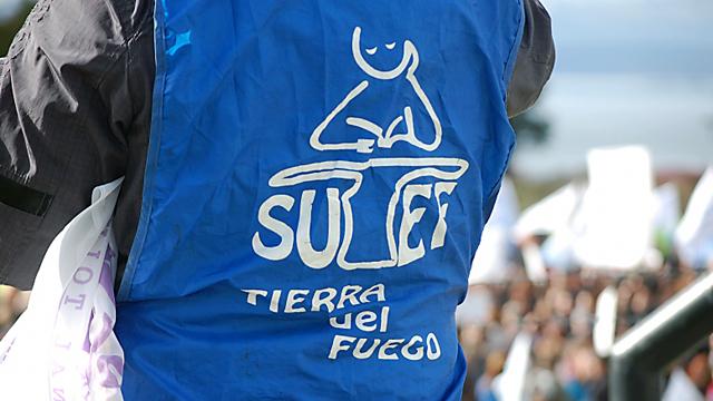 SUTEF el gremio docente en Tierra del Fuego - Foto: Sutef