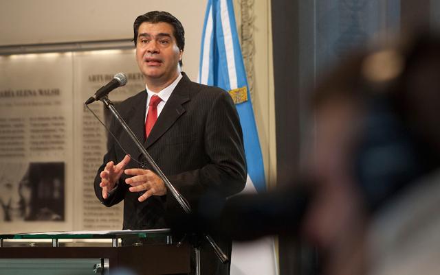 El jefe de Gabinete, Jorge Capitanich - Foto: Presidencia de la Nación