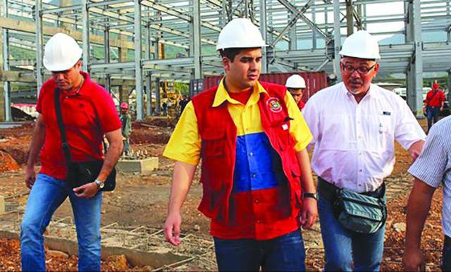 Nicolas Maduro Guerra el hijo del presidente de Venezuela - Foto: Archivo