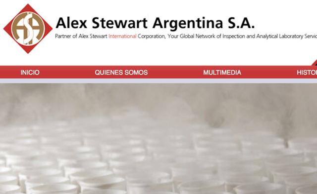 Alex Stewart Argentina desmintió enfáticamente mala praxis en el manejo de residuos peligrosos
