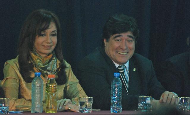 El Secretario Legal y Tecnico de la Presidencia junto a Cristina Kirchner - Foto: OPI Santa Cruz/Francisco Muñoz