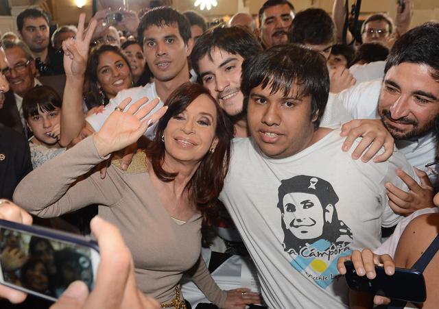 Ayer la Presidenta en la residencia de Olivos - Foto: Presidencia